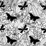Aloha hawaiisches nahtloses Muster Stockfotografie
