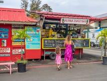 Aloha Juice Bar in Hanalei Fotografia Stock Libera da Diritti