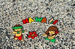 aloha l'Hawai Fotografia Stock