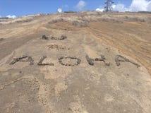 Aloha. Means goodbye and hello. Amazing Stock Photography