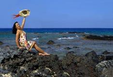 Aloha priorità bassa Fotografie Stock