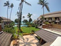 Aloha Resort Koh Samui room view Royalty Free Stock Photography