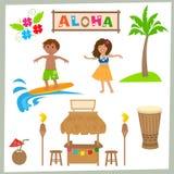 Aloha Set Foto de archivo
