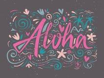 Aloha shirts to print. Stock Photos