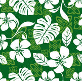 Aloha teste padrão sem emenda da camisa havaiana de sexta-feira Foto de Stock