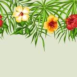 Aloha teste padrão sem emenda havaiano Ilustração do Vetor