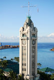 Aloha Tower Stock Photo
