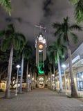 Aloha Tower alla notte Fotografia Stock Libera da Diritti