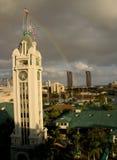 Aloha Tower. The Aloha clock tower at Honolulu, Hawaii Stock Image