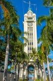Aloha Tower. Historic landmark built in 1926, located at Pier 9, Honolulu Harbor Stock Images