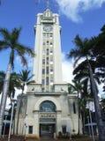 Aloha Tower, Honolulu, Oahu, Hawai Immagine Stock Libera da Diritti