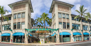 Aloha Tower Market Place Fotografia Stock