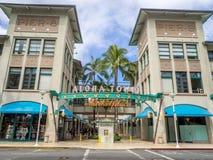 Aloha Tower Market Place Royalty Free Stock Photos