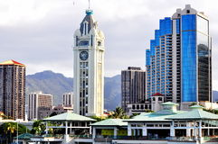 Aloha Tower. This is a picture of Aloha Tower located in Honolulu, Hawaii Stock Photography