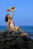 aloha välkomnande Arkivbild