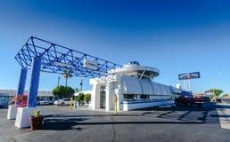Alojamento da era espacial - Gila Bend, AZ Fotos de Stock Royalty Free