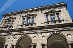 Alojamento do feno. Macerata. Marche. fotos de stock