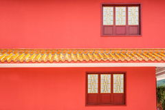 Alojamento do templo de Jinyu Guanyin das monges de Sanya Nanshan Buddhist Imagens de Stock