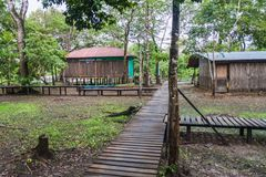 Alojamento do turista do beira-rio foto de stock royalty free