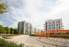 Alojamento moderno na cidade Fotos de Stock