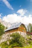 Alojamento no vale de Vrata, Eslovênia de Aljaz Fotografia de Stock