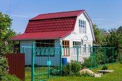 Alojamento pequeno rural Foto de Stock Royalty Free