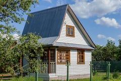 Alojamento pequeno rural Imagens de Stock Royalty Free