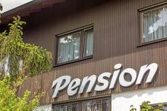 Alojamiento de la casa de huéspedes/de la pensión (pensión) Fotos de archivo libres de regalías
