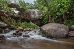 Alojamiento de la cascada Foto de archivo libre de regalías