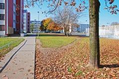 Alojamiento de la universidad de Strahov Foto de archivo