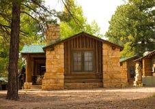 Alojamientos de alquiler en el Gran Cañón foto de archivo