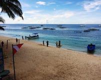 Alona Beach Royaltyfria Bilder