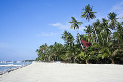Alona beach bohol island philippines Royalty Free Stock Photography
