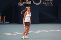 Alona Bondarenko (UKR) in China opent 2009 royalty-vrije stock foto