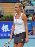 Alona Bondarenko (UKR) in China opent 2009 stock foto's