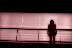 alone Arkivbild