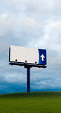 Alone billboard Stock Photo