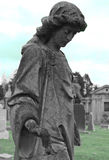 Alone. In a California cemetery Royalty Free Stock Photos