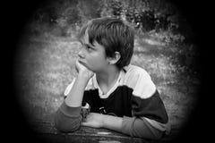 Alone child Stock Image