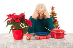 Alone with Christmas Royalty Free Stock Image