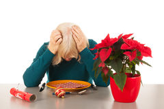 Alone with Christmas Stock Photography