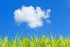 Alone  Cloud Royalty Free Stock Photography