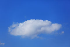 Alone cloud Stock Photography
