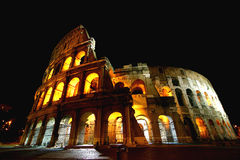Alone at the Colosseum Stock Photo