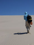 Alone_in_the_desert Royalty Free Stock Photo