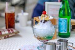 Alone di alone, dessert filippino di estate Fotografie Stock Libere da Diritti