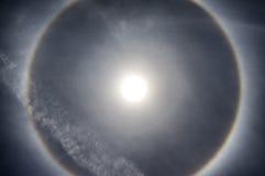 Alone di Sun Immagine Stock