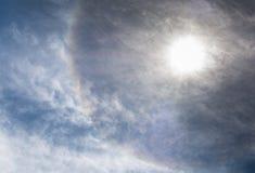 Alone di Sun fotografia stock