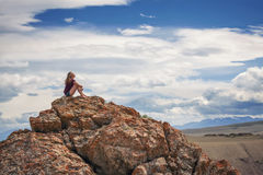 Alone with nature royalty free stock photo