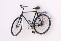 Free Alone Old  Rusty Bicycle Stock Photography - 10731022